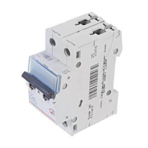 Автоматический выключатель Legrand TX3 6кА характеристика С 40А 2П(1P+N)