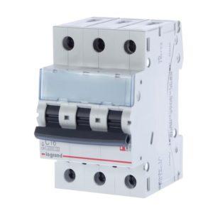 Автоматический выключатель Legrand TX3 6кА, С 32А, 3П