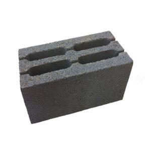 Блок керамзитобетонный пустотелый 390x190x188 мм