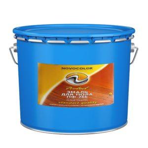 Эмаль для пола ПФ-266 красно-коричневая (20 кг)