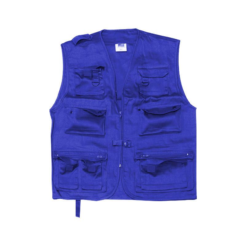 Жилет разгрузочный синий/черный р. 48-50