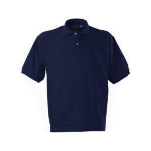 Футболка-поло короткий рукав синяя р. L