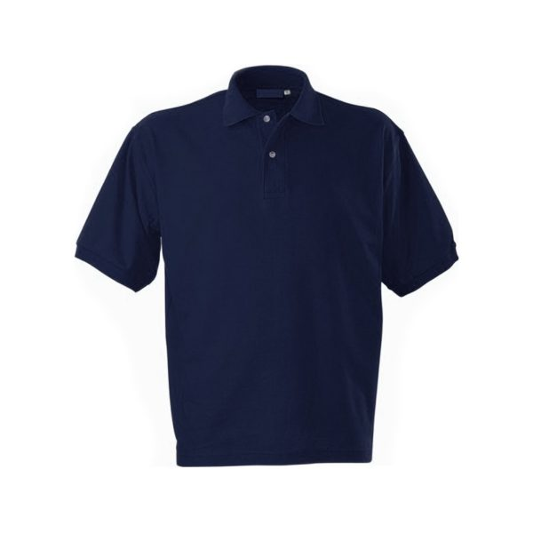 Футболка-поло короткий рукав синяя р. XL