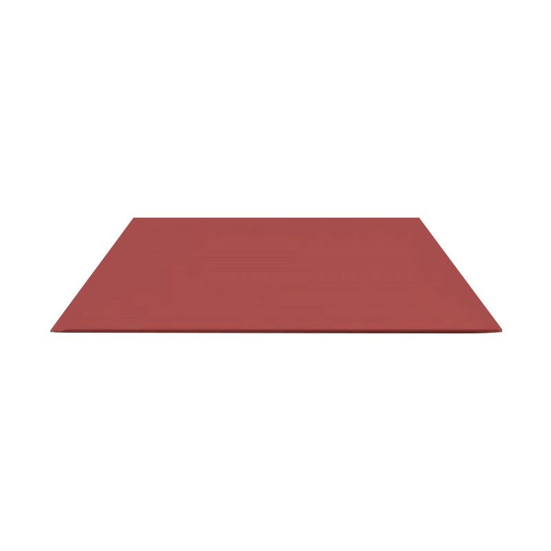 Лист гладкий оцинк. (RAL 3005) красное вино 1250x2000x0,4 мм (2,5 м2)