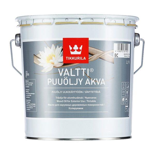 Масло для дерева Valtti AKVA EС (2,7 л)