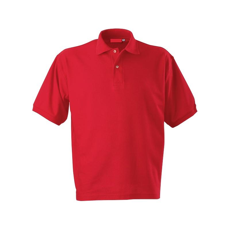 Футболка-поло короткий рукав красная р. M