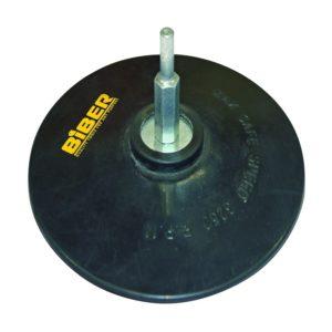 Диск опорный 125 мм для шлиф. бумаги резиновый с винтом