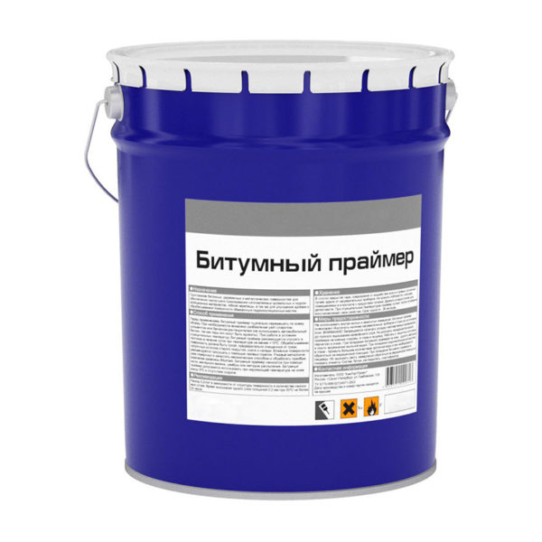 Праймер битумный, металлическое ведро, 20 л