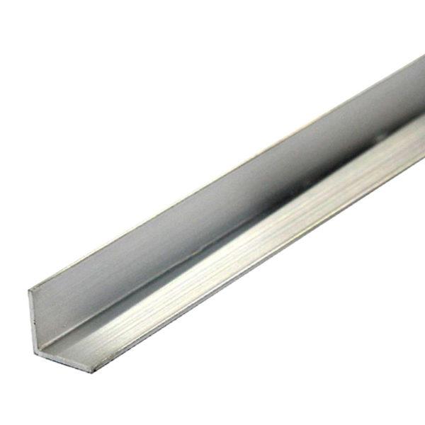 Уголок алюм., 30x30x1,5 мм, анодированный, 2 м
