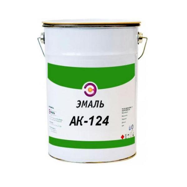 Краска фасадная АК-124 до -20С белая (25 кг)