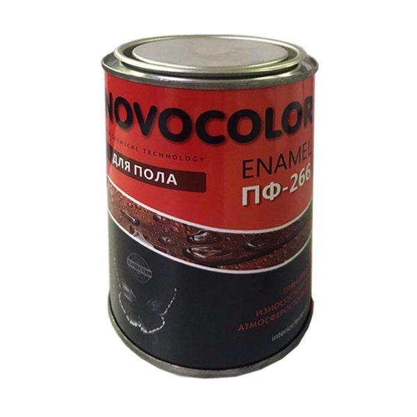 Эмаль для пола ПФ-266 жёлто-коричневая (0,9 кг)