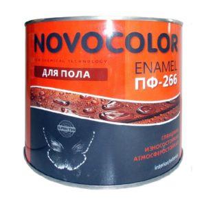 Эмаль для пола ПФ-266 красно-коричневая (1,9 кг)