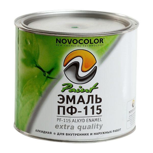 Эмаль ГОСТ ПФ-115 коричневая (1,9 кг)