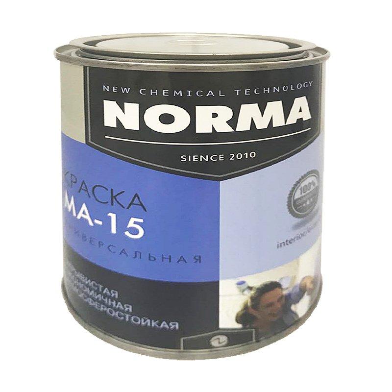 Краска масляная МА-15 ГОСТ-71 коричневая (1 кг)