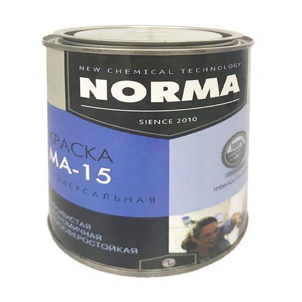 Краска масляная МА-15 ГОСТ-71 чёрная (1 кг)
