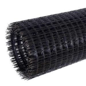 Сетка кладочная / штукатурная, базальтовая, ячейка 25х25 мм, рулон 1х50 м