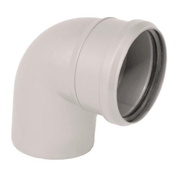 Отвод внутренний шумопоглощающий d=110 мм, 87°