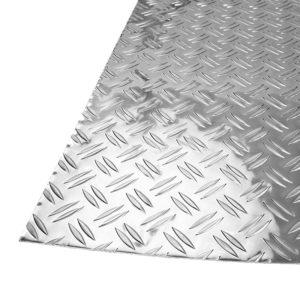 """Лист алюм. рифленый """"Бриллиант"""", 1200x600x1,5 мм"""