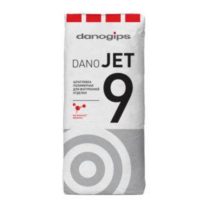 Финишная полимерная шпатлевка Даногипс Dano Jet 9, 20 кг