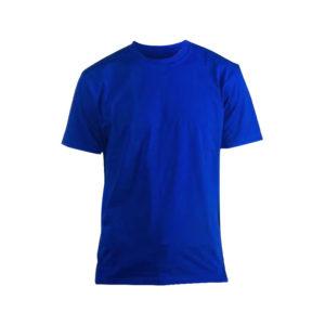 Футболка Люкс синяя короткий рукав р. L