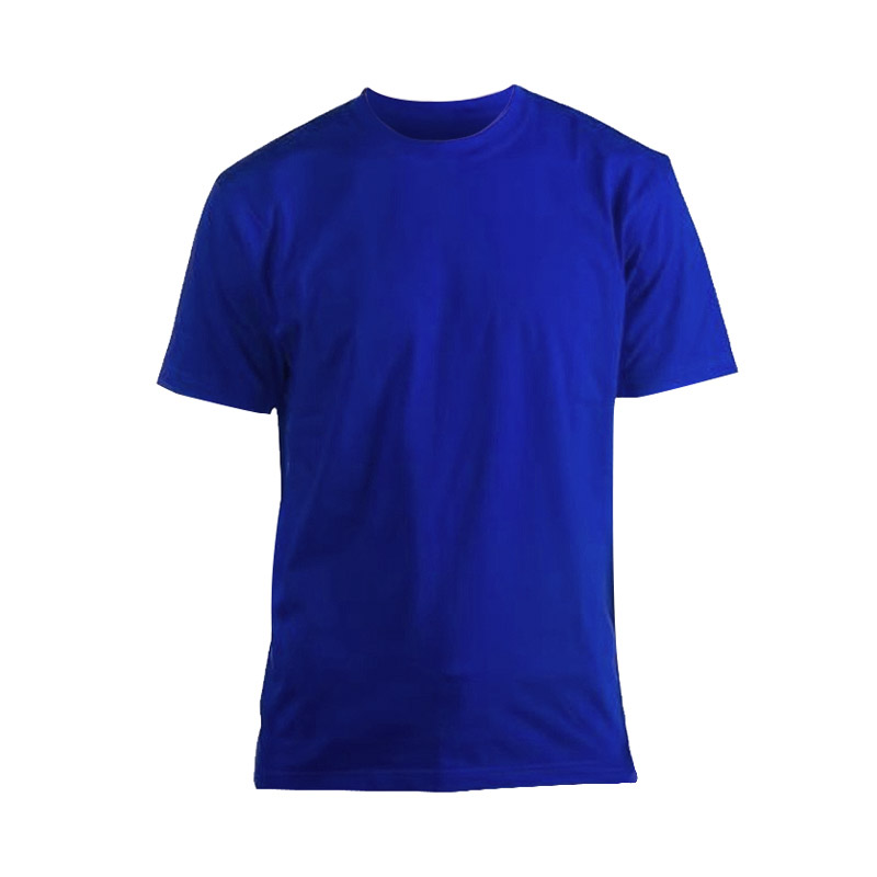 Футболка Люкс синяя короткий рукав р. M