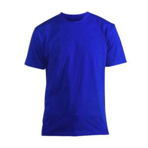 Футболка Люкс синяя короткий рукав р. XL