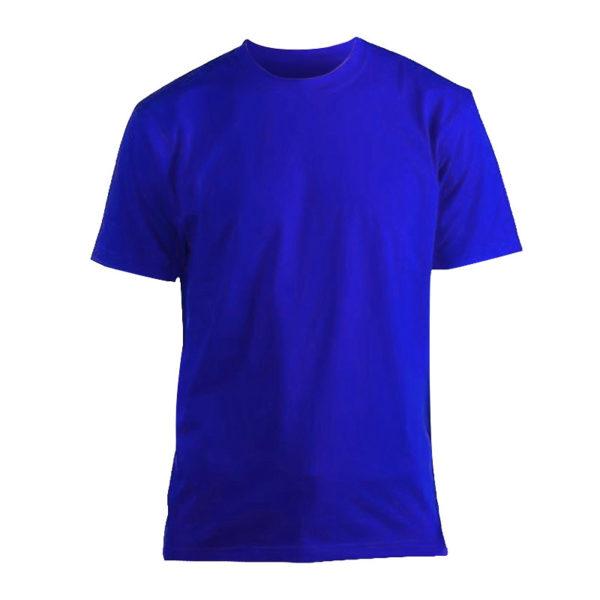 Футболка Люкс синяя короткий рукав р. XXL