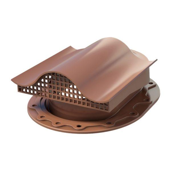 СК Аэратор КТВ-вентиль для готовой кровли из гибкой черепицы, коричневый