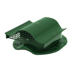 СК Аэратор КТВ-вентиль для готовой кровли из металлочерепицы, зеленый