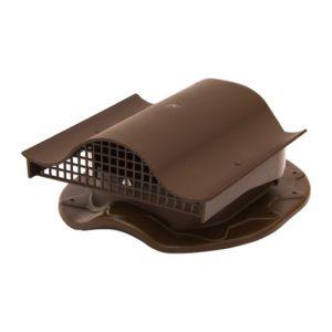 СК Аэратор КТВ-вентиль для готовой кровли из металлочерепицы, коричневый