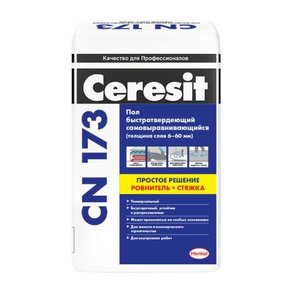 Универсальная самовыравнивающаяся смесь Церезит CN173, 20 кг