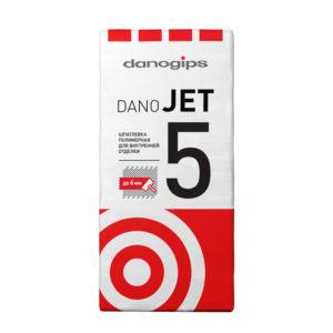 Финишная полимерная шпатлевка Даногипс Dano Jet 5, 25 кг