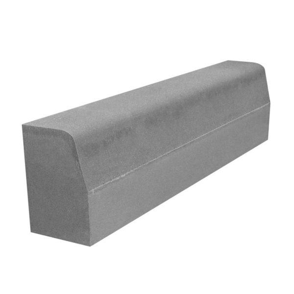 Бортовой камень БР 1000x300x150 мм (бордюр дорожный)