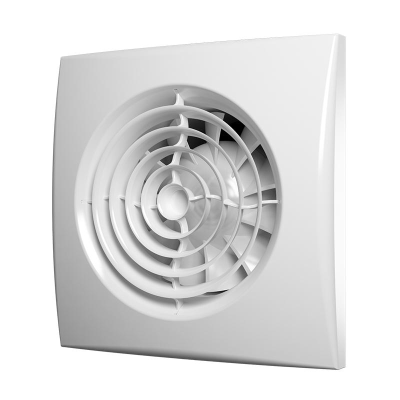 Вентилятор вытяжной Era 100 Aura 4C, 90 м3/ч, обратн. клапан