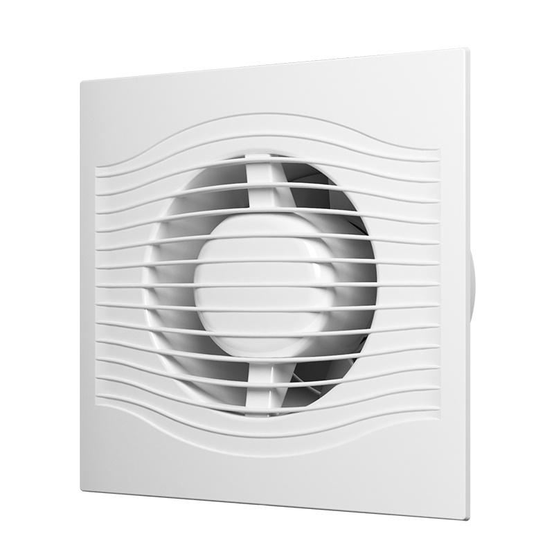 Вентилятор вытяжной Era 100 Slim 4C, 90 м3/ч, обратн. клапан
