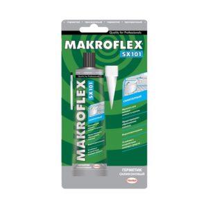 Герметик силиконовый Макрофлекс SX101 санитарный, бесцветный (85 мл)