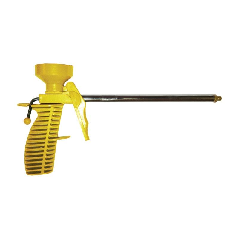 Пистолет для монтажной пены пластм.корпус