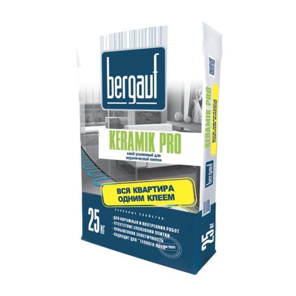 Клей усиленный для плитки Бергауф Keramik Pro, 25 кг