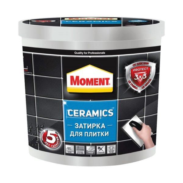 Затирка Moment Ceramics, темно-коричневый, 1 кг