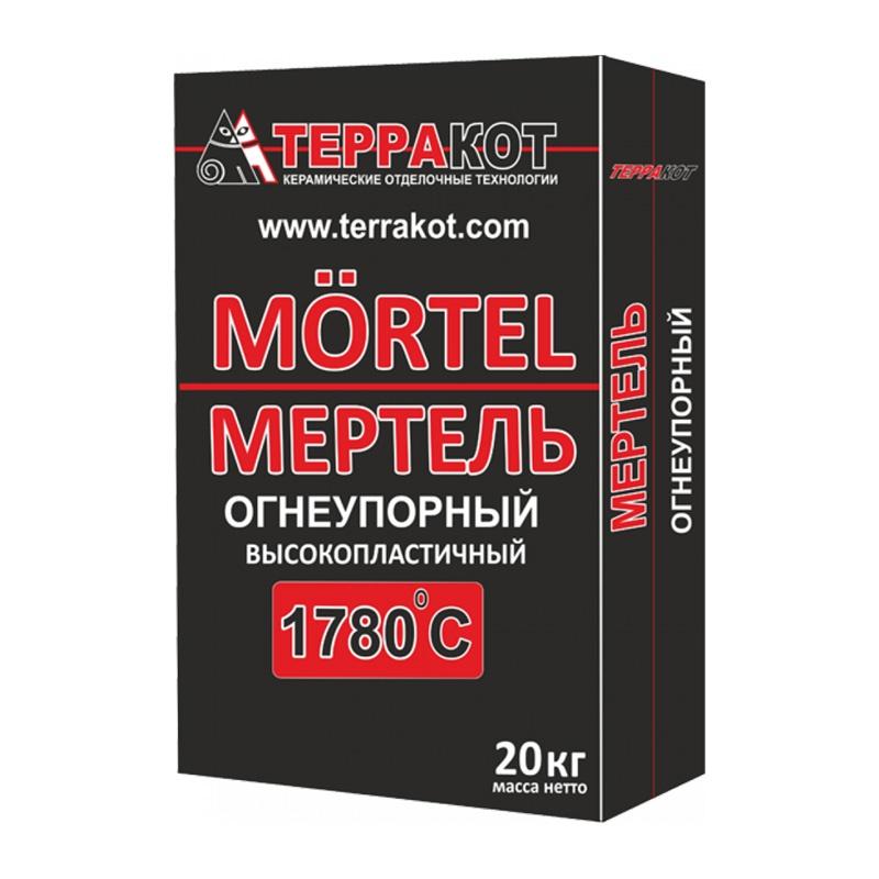 Кладочная смесь Терракот Мертель, огнеупорная, 20 кг
