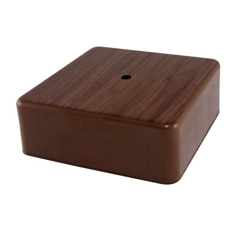 Коробка разветвительная о/у, 75х75х28мм, бук, IP40