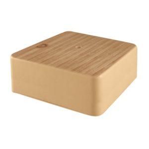 Коробка разветвительная о/у, 50х50х20мм, сосна, IP40
