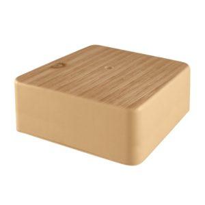 Коробка разветвительная о/у, 75х75х28мм, сосна, IP40
