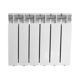 Радиатор алюминиевый 350x80, 6 секций