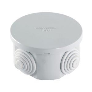 Коробка разветвительная о/у, d=65 мм h=35 мм, IP44 (4 ввода)