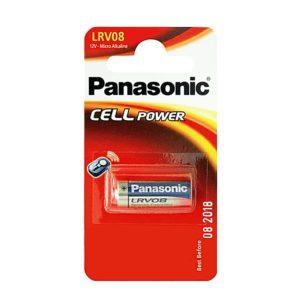 Элемент питания алкалиновый Panasonic, тип LRV08/А23 (для брелка автосигнализации), 12В, 55мА*ч