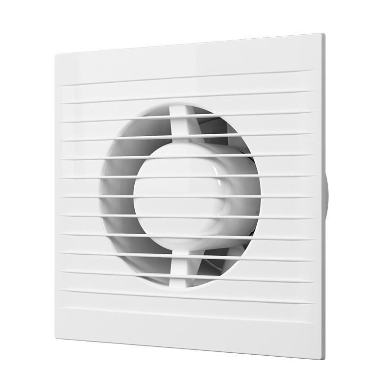 Вентилятор вытяжной Era 125 E125S, 140 м3/ч, c антимоскитной сеткой