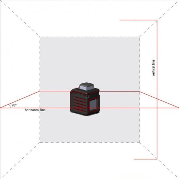 Лазерный уровень ADA Cube 360 Home Edition с кронштейном