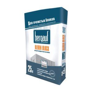 Клей для ячеистых блоков Бергауф Клебен Блок, морозостойкий, 25 кг