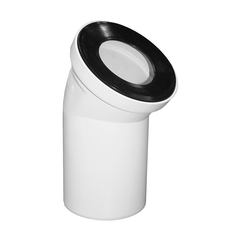 Муфта ОРИО двухраструбная канализационная гибкая d=50мм ОКГ-50